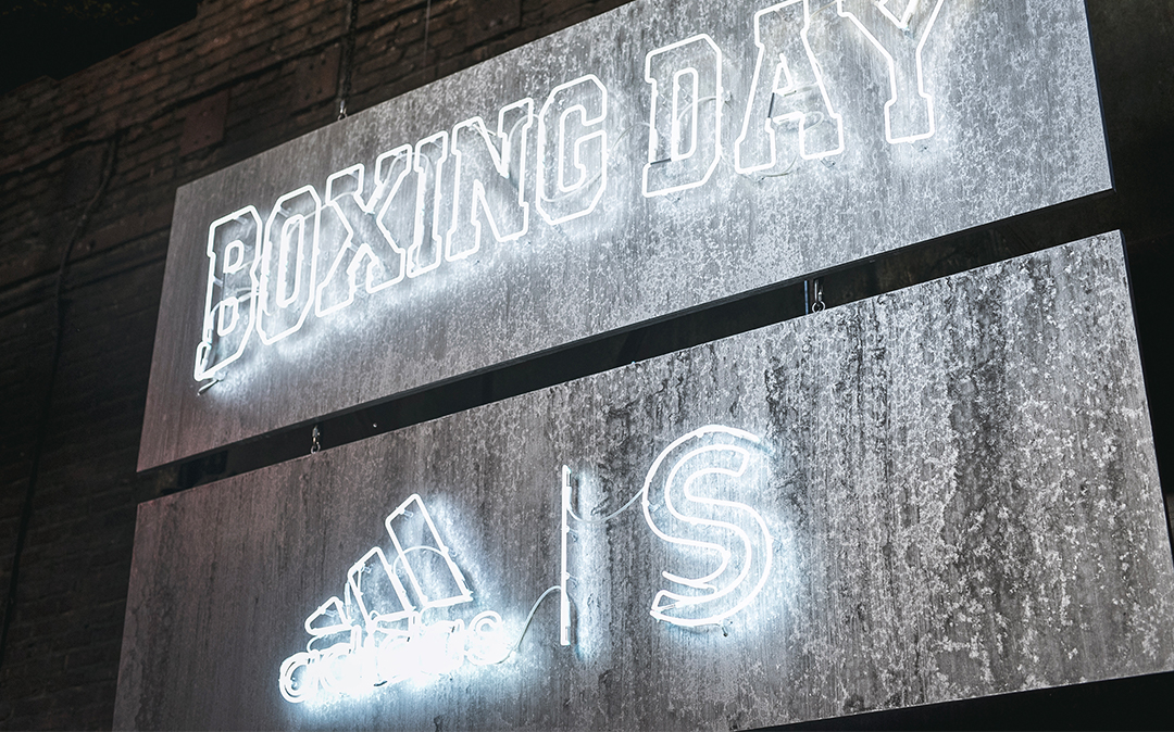 adidas Boxing Day